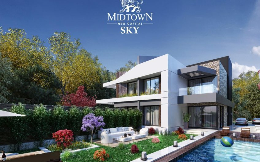 Townhouse in the administrative capital of Midtown compound