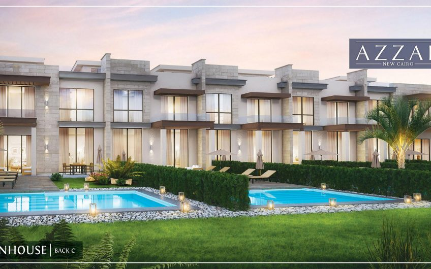 Townhouse for sale in Azzar New Cairo