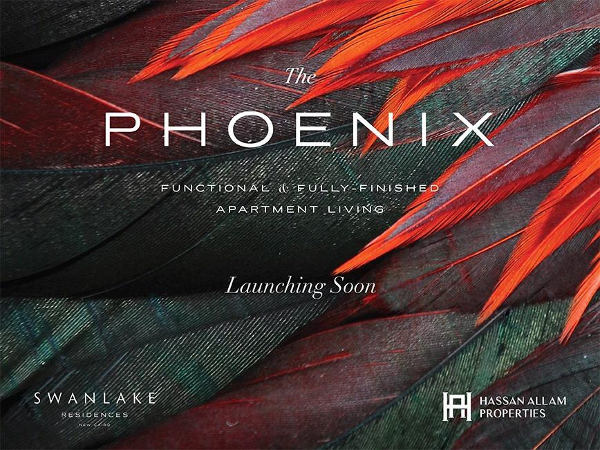 Your apartment is 127m fully finished in The Phoenix Swan Lake New Cairo
