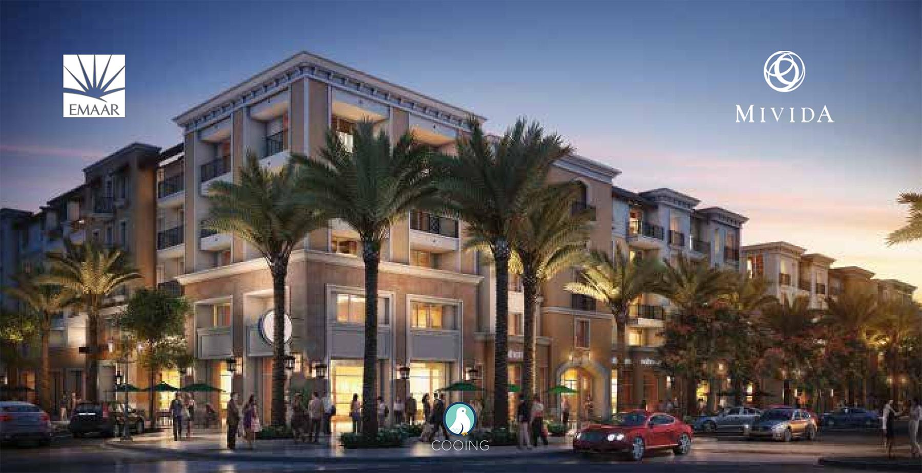 Apartment for Sale – Ground in Garden – in Mivida Emaar Compound